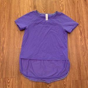 Ivivva Lululemon athletic tee shirt top size 14
